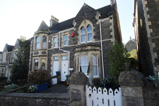 Thumbnail Semi-detached house for sale in Hillside Road, Clevedon