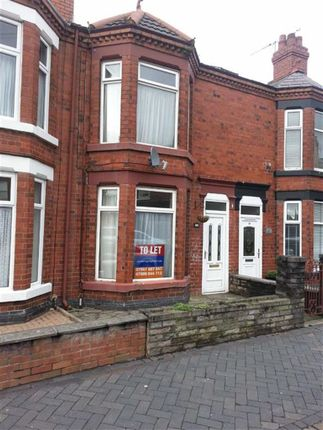 Thumbnail Terraced house to rent in Smallman Road, Crewe, Cheshire
