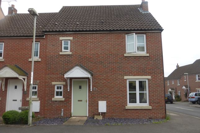 Thumbnail Semi-detached house for sale in Westbury Way, Blandford Forum