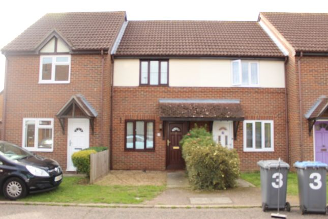 Thumbnail 2 bed terraced house to rent in Sherwood Fields, Kesgrave, Ipswich