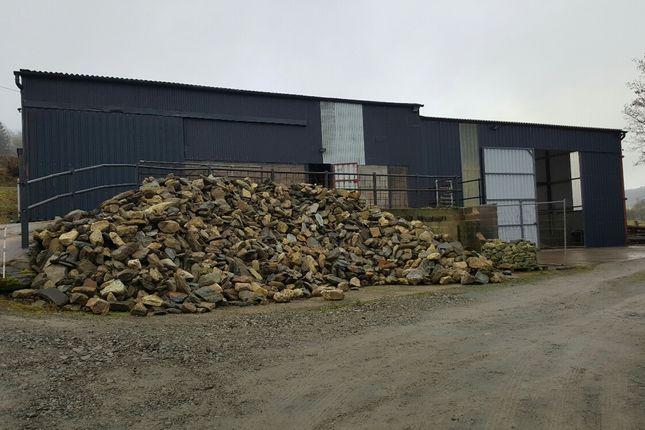 Thumbnail Industrial to let in Nantyr, Glyn Ceiriog