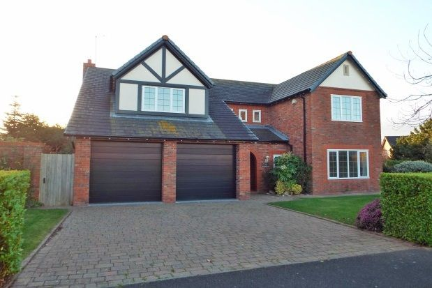 Thumbnail Detached house to rent in Meadowgate, Caldy, Wirral