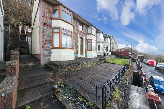 Thumbnail Semi-detached house for sale in Rhyswg Road, Abercarn, Newport.