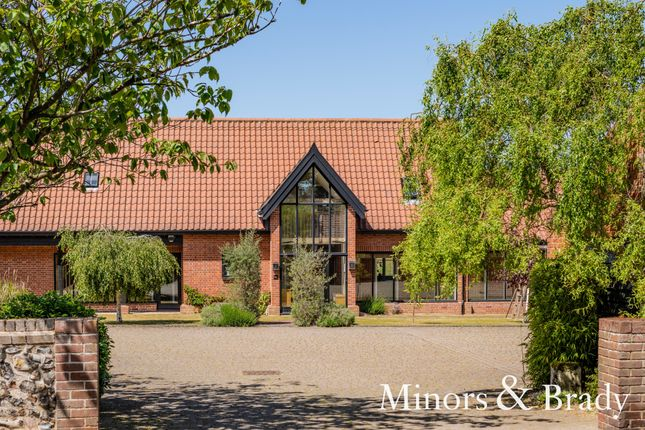 Thumbnail Barn conversion for sale in Lower Street, Salhouse, Norwich
