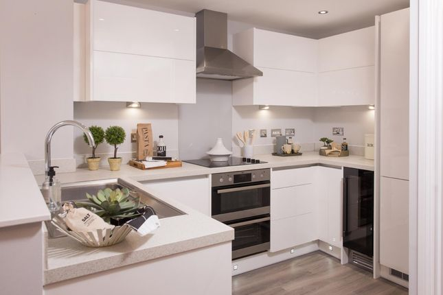 """Thumbnail Semi-detached house for sale in """"Kingsville"""" at Weston Hall Road, Stoke Prior, Bromsgrove"""