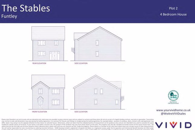 4 bed detached house for sale in Vivid @ The Stables, Funtley, Fareham PO15