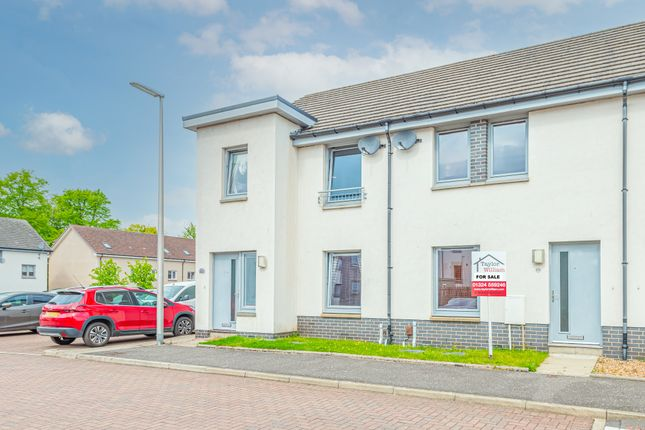 Thumbnail Terraced house for sale in 15 Crookston Court, Larbert