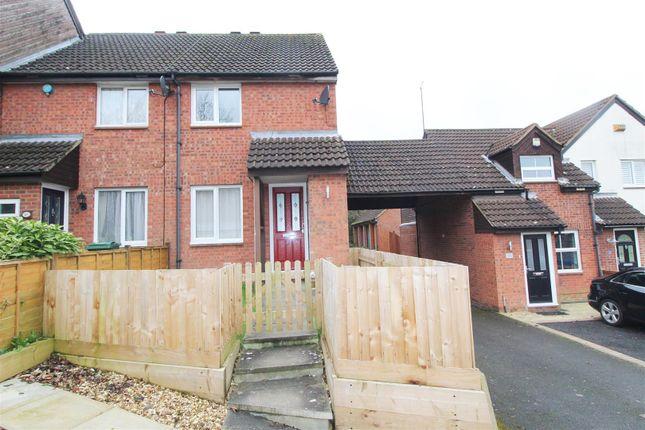 Thumbnail 2 bed end terrace house to rent in Winterburn, Heelands, Milton Keynes