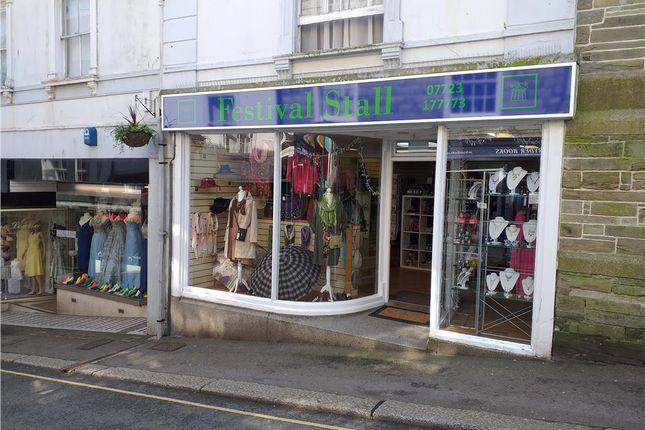 Thumbnail Commercial property for sale in Pike Street, Liskeard, Cornwall