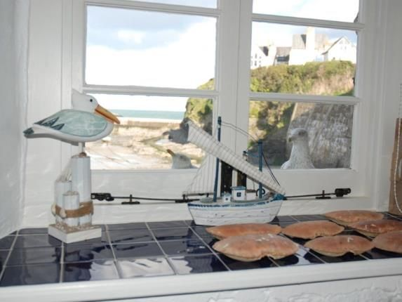 Kitchen Window of Fore Street, Port Isaac PL29