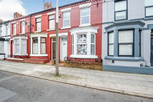 Thumbnail End terrace house for sale in Halsbury Road, Liverpool, Merseyside