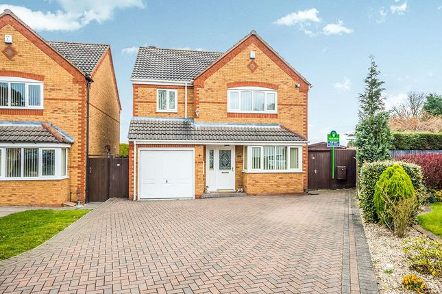 Thumbnail Detached house for sale in Suffolk Close, Wednesfield, Wolverhampton