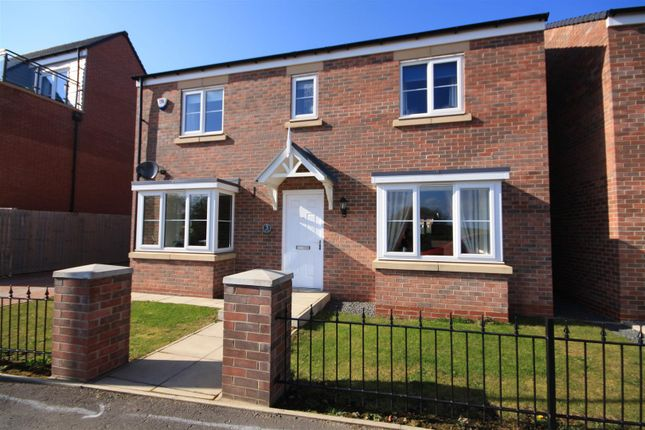Thumbnail Detached house for sale in St. James Crescent, Newfield, Chester Le Street
