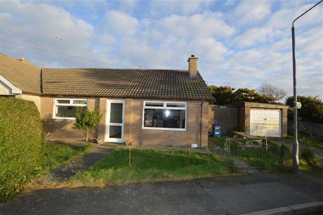 Thumbnail Semi-detached bungalow for sale in 60, Maesnewydd, Aberdyfi, Gwynedd