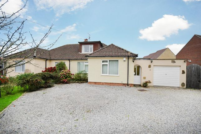 Thumbnail Semi-detached bungalow for sale in Burleaze, Chippenham
