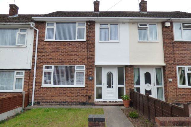Thumbnail Terraced house to rent in Malmesbury Road, Whitmore Park, Coventry