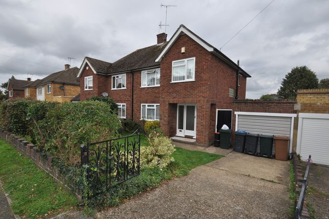Thumbnail Semi Detached House To Rent In Upper Queens Road Ashford