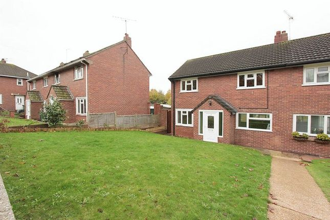 Thumbnail Semi-detached house to rent in Headland Close, Exeter