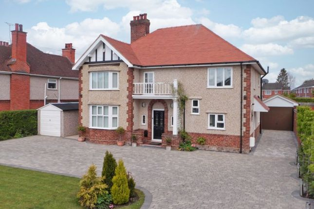 Thumbnail Detached house for sale in Crewe Road, Wistaston, Cheshire