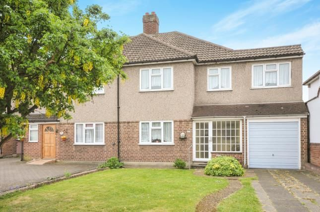 Thumbnail Semi-detached house for sale in Main Road, Sidcup, Kent, .