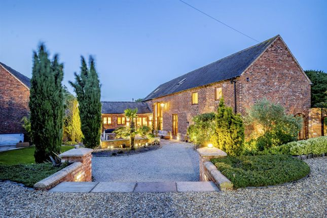 Thumbnail Barn conversion for sale in Hall Lane, Hammerwich, Staffordshire