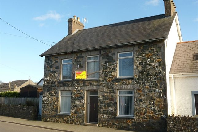 Thumbnail Semi-detached house for sale in Glanhelyg, Dinas Cross, Newport, Pembrokeshire