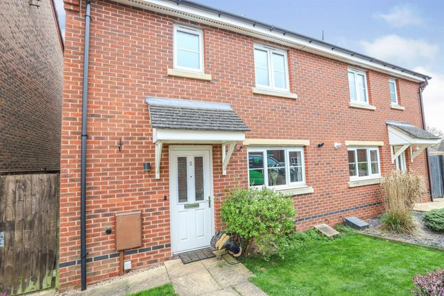 Thumbnail Semi-detached house for sale in Galanos, Long Itchington, Southam