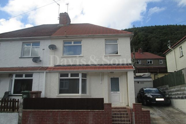 Thumbnail Semi-detached house for sale in George Street, Cwmcarn, Newport.