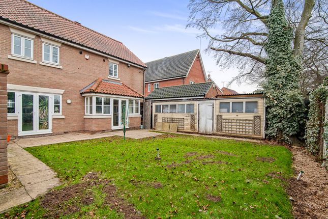 Thumbnail Detached house for sale in Chervil Walk, Thetford