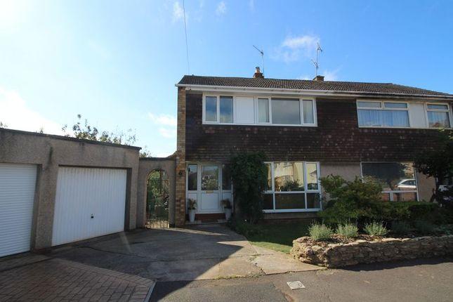 Thumbnail Semi-detached house for sale in Paulman Gardens, Long Ashton, Bristol