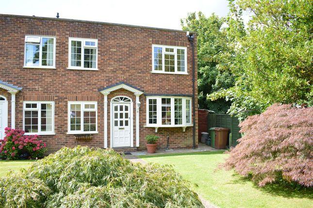 Thumbnail End terrace house to rent in Milton Gardens, St. Martins Avenue, Epsom