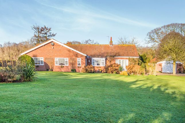 Thumbnail Detached bungalow for sale in Mill Common Road, Witton, North Walsham