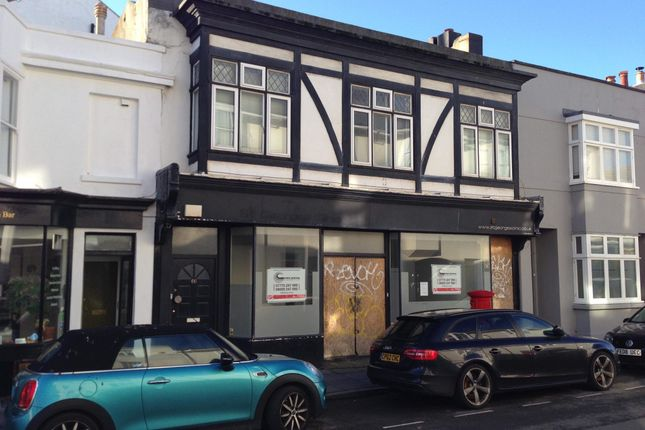 Thumbnail Retail premises for sale in St Georges Road, Brighton