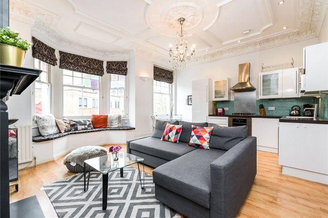 Thumbnail Flat for sale in Mazenod Avenue, West Hampstead Borders
