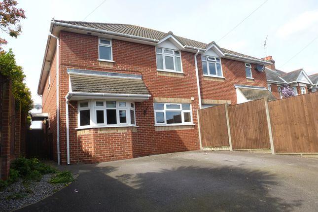 Thumbnail Semi-detached house for sale in Fair Oak Road, Fair Oak, Eastleigh