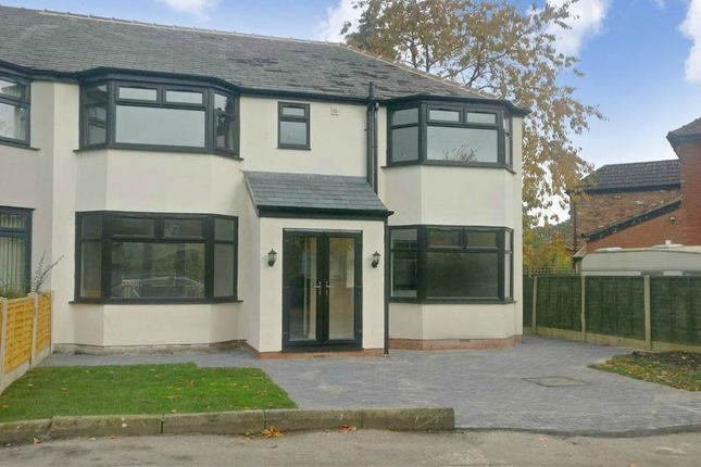 4 bed semi-detached house for sale in The Oval, Heald Green, Cheadle SK8