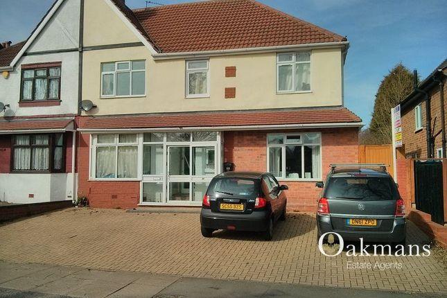 Thumbnail Semi-detached house for sale in Gibbins Road, Birmingham, West Midlands.