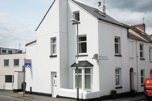 4 bedroom end terrace house for sale in Gladstone Road, Newtown, Exeter