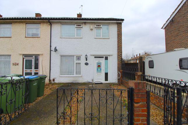Thumbnail End terrace house for sale in Finchale Road, Abbey Wood, London