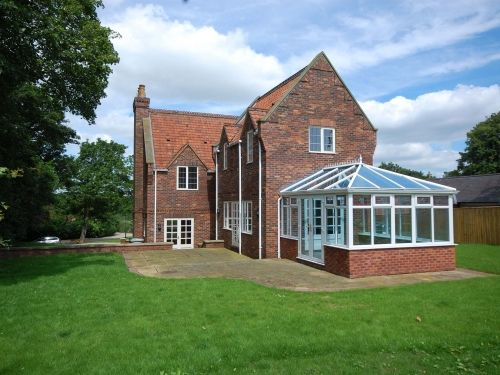 Thumbnail Detached house to rent in South Thoresby, Alford