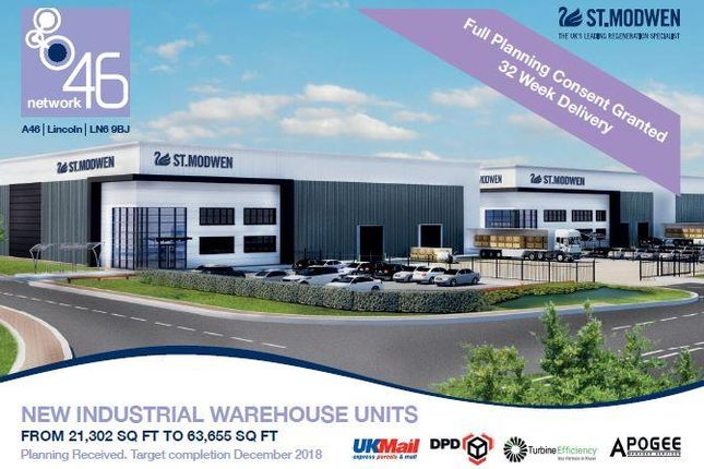 Industrial for sale in Network 46, A46, Lincoln