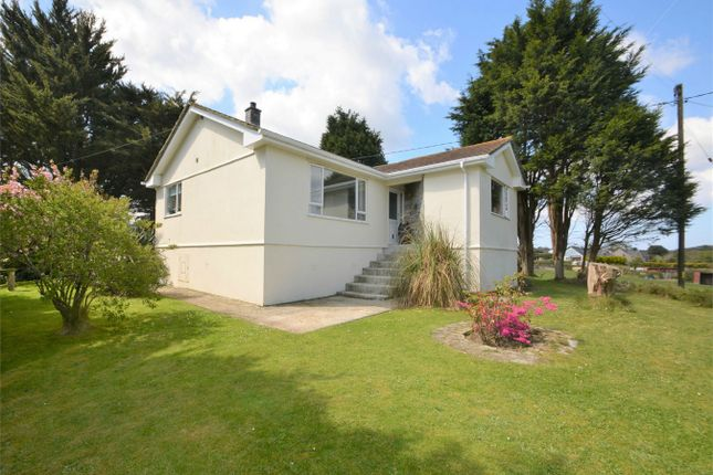 Thumbnail Detached bungalow for sale in St Day, Redruth, Cornwall
