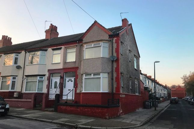 Thumbnail Terraced house to rent in Well Lane, Tranmere, Wirral