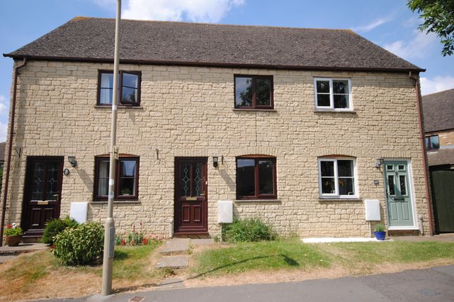 Thumbnail Terraced house to rent in Rissington Drive, Witney