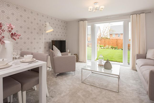 """Thumbnail Semi-detached house for sale in """"Barwick"""" at Tenth Avenue, Morpeth"""