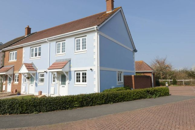 Thumbnail End terrace house to rent in Sadlers Walk, Emsworth