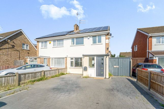 Thumbnail Semi-detached house for sale in Wimbrick Close, Moreton, Wirral
