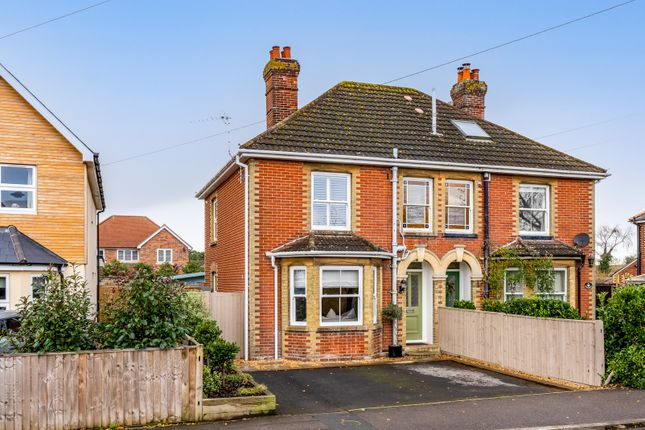 Thumbnail Semi-detached house for sale in Church Road, Warsash
