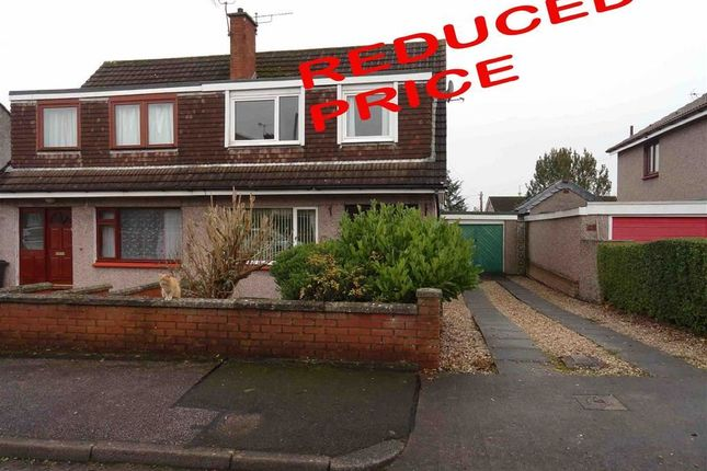Thumbnail Semi-detached house for sale in Loganbarns Crescent, Dumfries