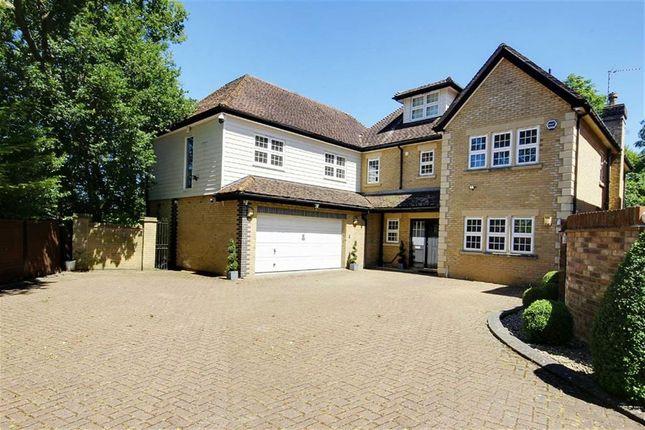 Thumbnail Detached house for sale in St James Road, Goffs Oak, Hertfordshire